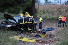 Un hombre fallece en un accidente de tráfico en la autopista de Inca