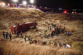 Se eleva a 14 la cifra de fallecidos en el accidente de autobús de Murcia
