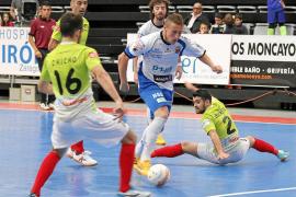 El Palma Futsal, quinto tras ganar en la pista del DLink Zaragoza