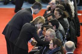 Los Reyes presiden el funeral por las víctimas del accidente de Murcia