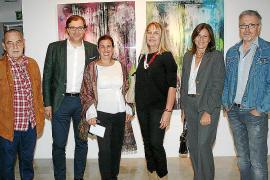 Santiago Picatoste y Roland Fischer presentan su obra en el Casal Solleric