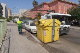EMAYA refuerza la limpieza de las barriadas de Son Roca-Son Ximelis