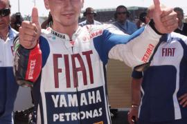 Lorenzo: «Estoy bastante cerca del límite de esta moto»