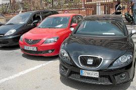 El vehículo desguazado en Son Toells fue usado como coche camuflado por la Guardia Civil