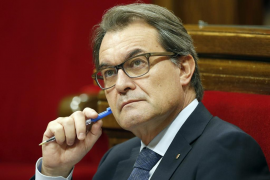 Mas denuncia la «imagen dramática para España» si actúa la Fiscalía