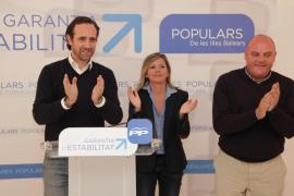 Marga Serra,  candidata del PP a la Alcaldía de Sa Pobla