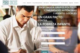 Bromas en Twitter por la nueva página web de Pedro Sánchez
