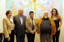 Coronado inaugura en la galería Vanrell sus obras en homenaje a Picasso