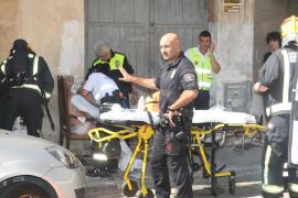 Una mujer resulta quemada en Palma