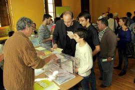 Santiago destaca la «altísima participación» en las primarias de MÉS