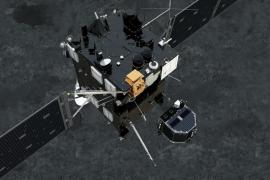Philae se 'echa a dormir' sobre la superficie del cometa por falta de batería