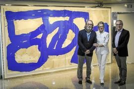 La pintura de Ramón Canet convierte la Clínica Rotger en un «museo vivo»