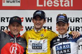 Victoria final de Franck Schleck por delante de Lance Armstrong