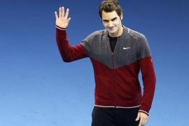 Djokovic, campeón del Masters tras la renuncia de Federer por problemas en la espalda