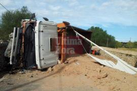 Un fallecido en accidente de tráfico en la carretera de Llucmajor a s'Estanyol