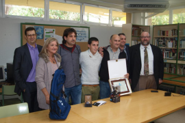 Reconocimiento a Pere Joan Gelabert, ganador del concurso Nacional de Jóvenes Instaladores