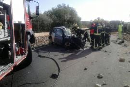 Accidente mortal en la carretera Llucmajor-s'Estanyol