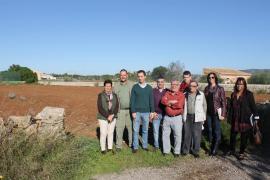 El primer huerto social en Santanyí se pone en marcha