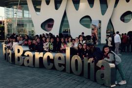Los alumnos de Na Caragol participan en la Fira Smart City