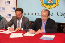 Convenio entre Endesa y Capdepera para garantizar el suministro a familias con menos recursos