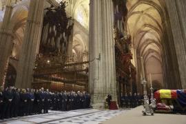 El funeral de la duquesa de Alba