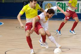 Gran triunfo del Palma Futsal en Santa Coloma