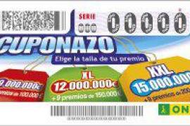 El Cuponazo de la ONCE deja cerca de 10,4 millones de euros en Mallorca