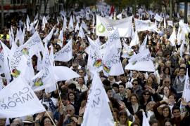 Unas 60.000 personas exigen que Rajoy cumpla y «erradique» el aborto