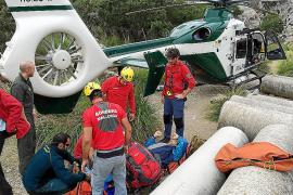 Rescatan a una escaladora herida en Palma y a un excursionista en Lloseta