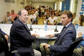 Rodríguez reúne al PP de Palma para ver si se toman medidas contra Isern