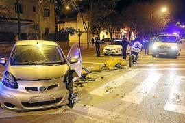 Detenido un conductor borracho tras una persecución por las calles de Palma