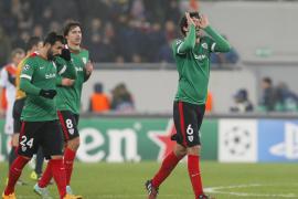 El Athletic Club gana al Shakhtar y se acerca a la Liga Europa