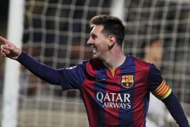 Messi entra en la historia como máximo goleador de la Champions