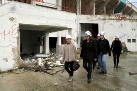 Se inician los trabajos para demoler el estadio Lluís Sitjar
