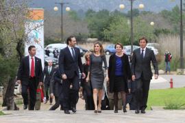 La reina Letizia, primer acto en solitario en Mallorca