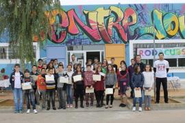 Medio centenar de estudiantes participan en el II Campeonato de Matemáticas de Santanyí