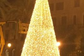 La iluminación navideña incluirá un árbol luminoso en Palma