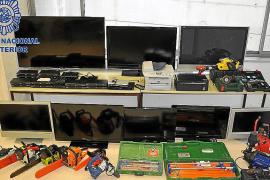 La Policía Nacional detiene a los autores de una oleada de robos en Manacor
