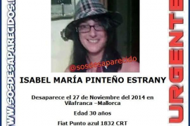 Fallece la joven desaparecida en Vilafranca