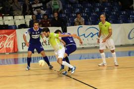 El Palma Futsal golea al Lugo y saca el billete para la Copa