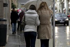 Este domingo, lluvias fuertes en Balears