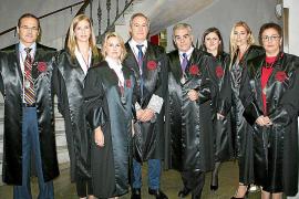 Acto de jura de nuevos abogados