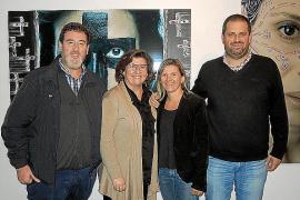 Inauguración de la exposición '18 segundos' en Can Planes