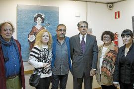 Inauguración de la exposición de Sandra de Jaume