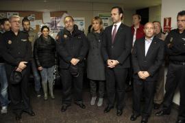 La Policía de Balears rinde homenaje a la agente fallecida en el atraco de Vigo