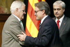 Mas pide ante el Fiscal General de Catalunya no «confrontar» legitimidad y legalidad