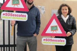 Noguera exige responsabilidades por los desprendimientos en el CEIP La Soledad