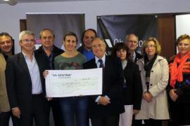 Sa Nostra entrega 9.000 euros al Comedor Social de Inca