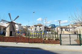 Los vecinos de Ponterró en Binissalem fuerzan las obras para evitar inundaciones