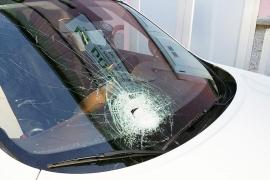 Detenido un joven por el lanzamiento de piedras sobre coches en la autopista